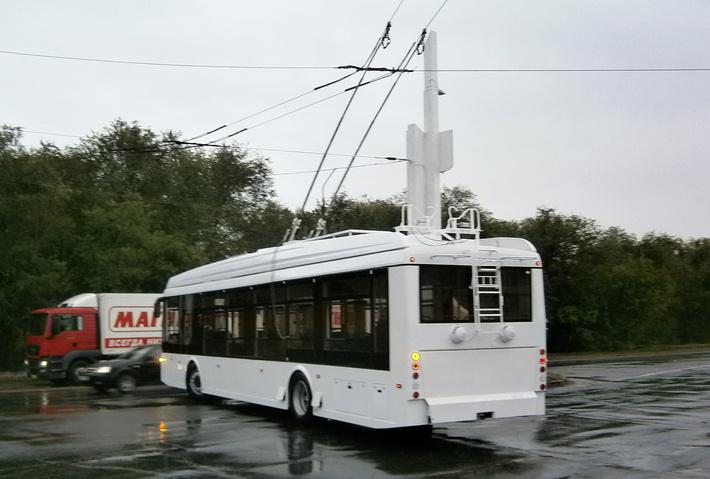 Первые фото нового троллейбуса