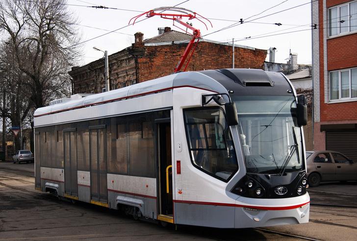 Ростов получил еще 13 новых трамваев