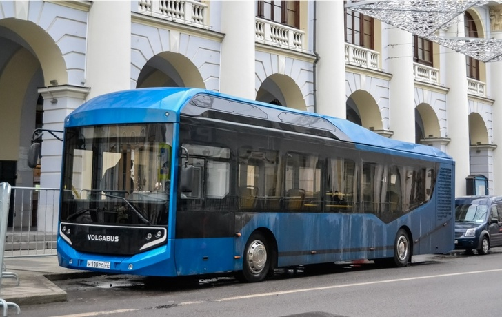 Москва, Volgabus СитиРитм-12ELF № Н 110 РО 33; Москва — Электробусы