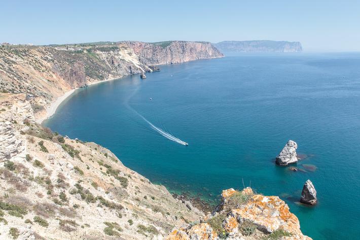 Западный берег Крыма, Балаклава, ГФЗ Севастополь
