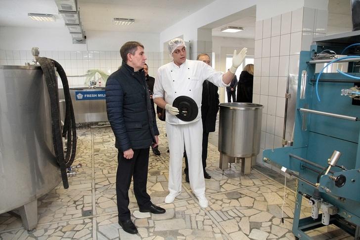 кооператива по переработке молока «Кимовский фермер»