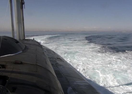 Атомный подводный крейсер «Томск» Тихоокеанского флота успешно произвел пуск крылатой ракеты