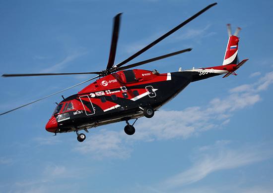 Минобороны России заключило первый контракт на поставку опытной партии вертолетов Ми-38