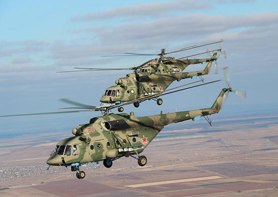 """Партия вертолетов """"Терминатор"""" поступила в авиачасти Восточного военного округа"""