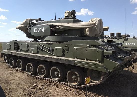 В соединение ЮВО поступил на вооружение модернизированный комплекс «Тунгуска-М1»