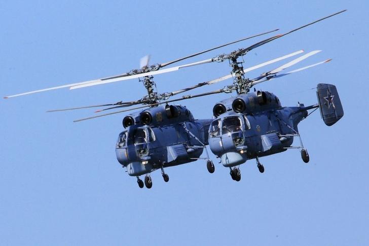 Морская авиация Балтфлота получила на вооружение модернизированные вертолеты Ка-27М