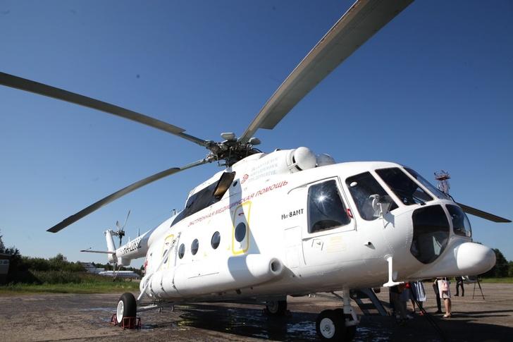 В Вологодской области заступил на дежурство первый вертолет санитарной авиации