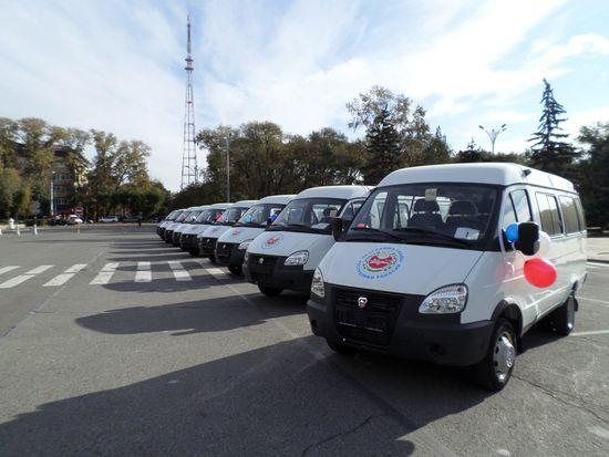 Микроавтобусы многодетным