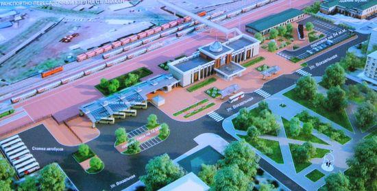 В Абакане началось строительство нового павильона железнодорожного вокзала