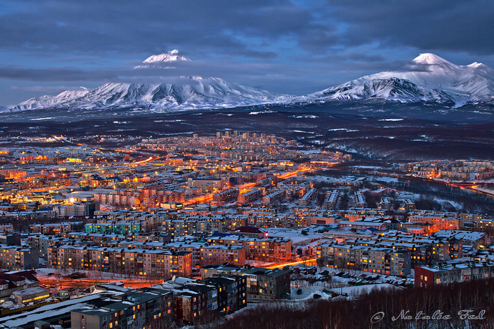 Петропавловск-Камчатский (фото Natalie Fed)