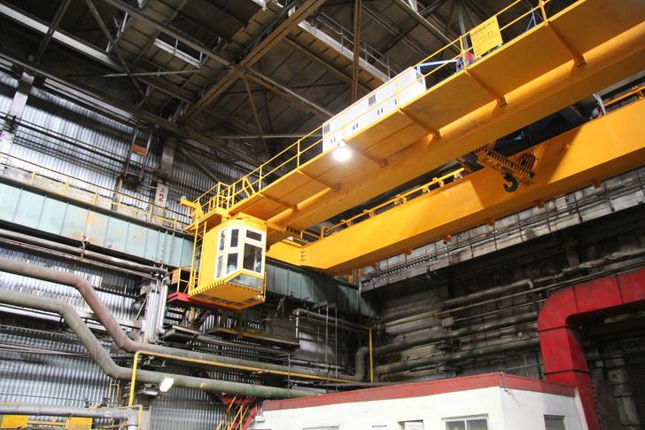 ВИЗ-Сталь запустила в эксплуатацию новое крановое оборудование