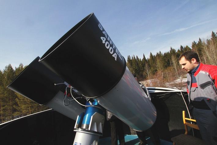 400-мм телескоп-робот МАСТЕР-II Коуровской астрономической обсерватории имени К.А. Бархатовой Уральского государственного университета