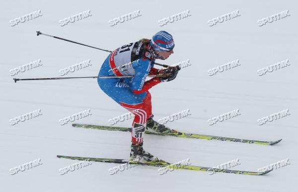 Лыжные гонки. VIII этап Кубка мира. Скиатлон. Женщины