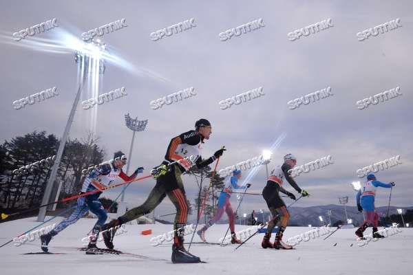 Лыжные гонки. VIII этап Кубка мира. Мужчины. Скиатлон