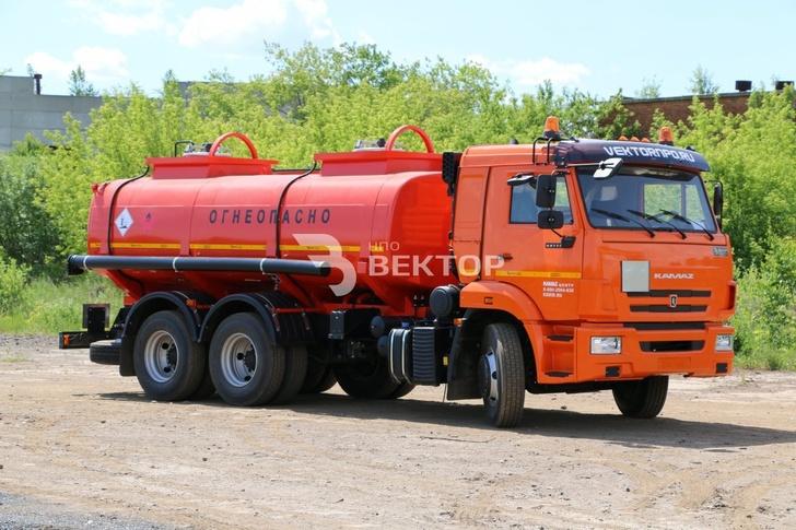 Автотопливозаправщик АТЗ-12 на шасси КАМАЗ-65115