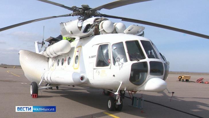 Новый вертолёт санавиации уже приступил к работе