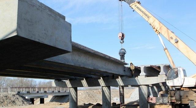 Мост через Арсеньевку капитально отремонтировали в Приморье