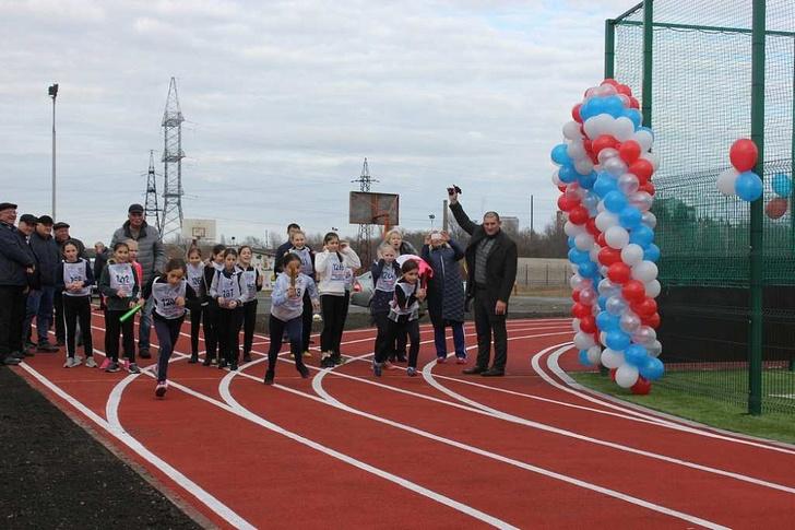 Спортивные комплексы открылись в Краснодарском крае и Северной Осетии