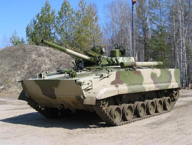 Первая партия БМП-3 поступила к мотострелкам на Северном Кавказе