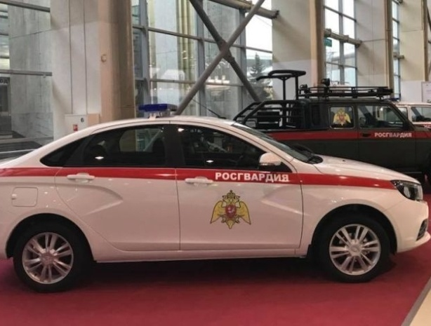 Завод «АвтоВАЗ» модернизировал LADA Vesta для Росгвардии