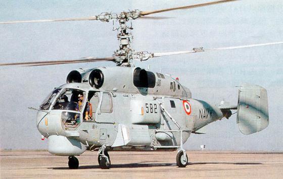Противолодочный вертолет Ка-28 ВМС Индии. Источник: militaryparitet.com