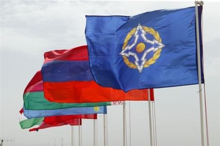 Флаги стран-участниц ОДКБ. Источник: obozrevatel.com