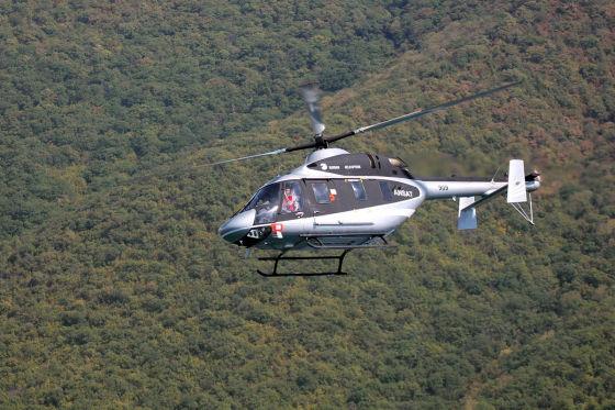 """Легкий многоцелевой вертолет """"Ансат"""""""