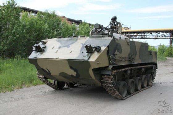 Модернизированный многоцелевой десантный бронетранспортер БТР-МДМ