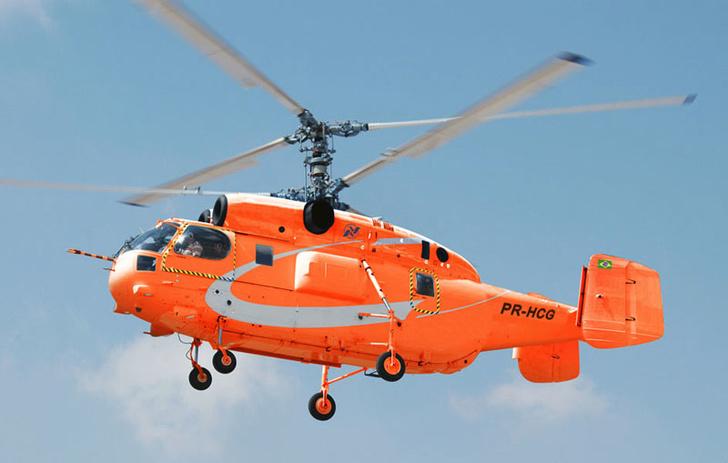 Противопожарный вертолет Ка-32A11BC.. Архивное фото