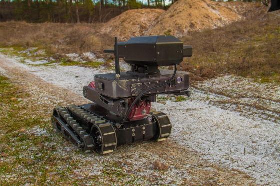 Тактический робот Минирэкс РС1А3