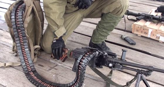 Гибкий рукав для подачи боеприпасов «Скорпион»Источник: FRONT-тактические системы