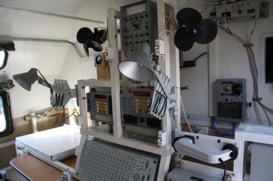 Командно-штабная машина Р-142НСА.