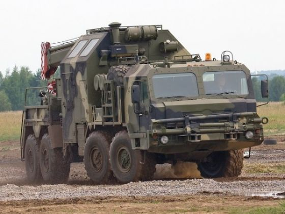 Ремонтно-эвакуационная машина РЭМ-КС на шасси БЗКТ 6910