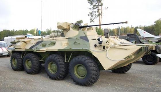 БТР-82А. Источник: Военное обозрение