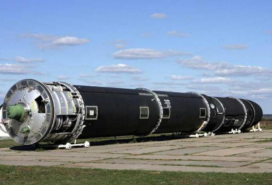 """Стратегический ракетный комплекс Р-36М2 """"Воевода"""". Источник: liveinternet.ru"""