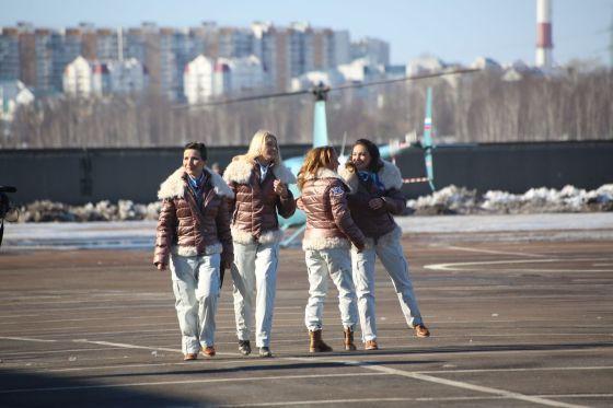 Российская женская вертолетная эскадрилья «Колибри»