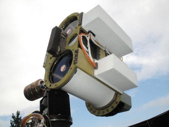 Наземный лазерный терминал (НЛТ) Источник: ОАО «НПК «СПП»