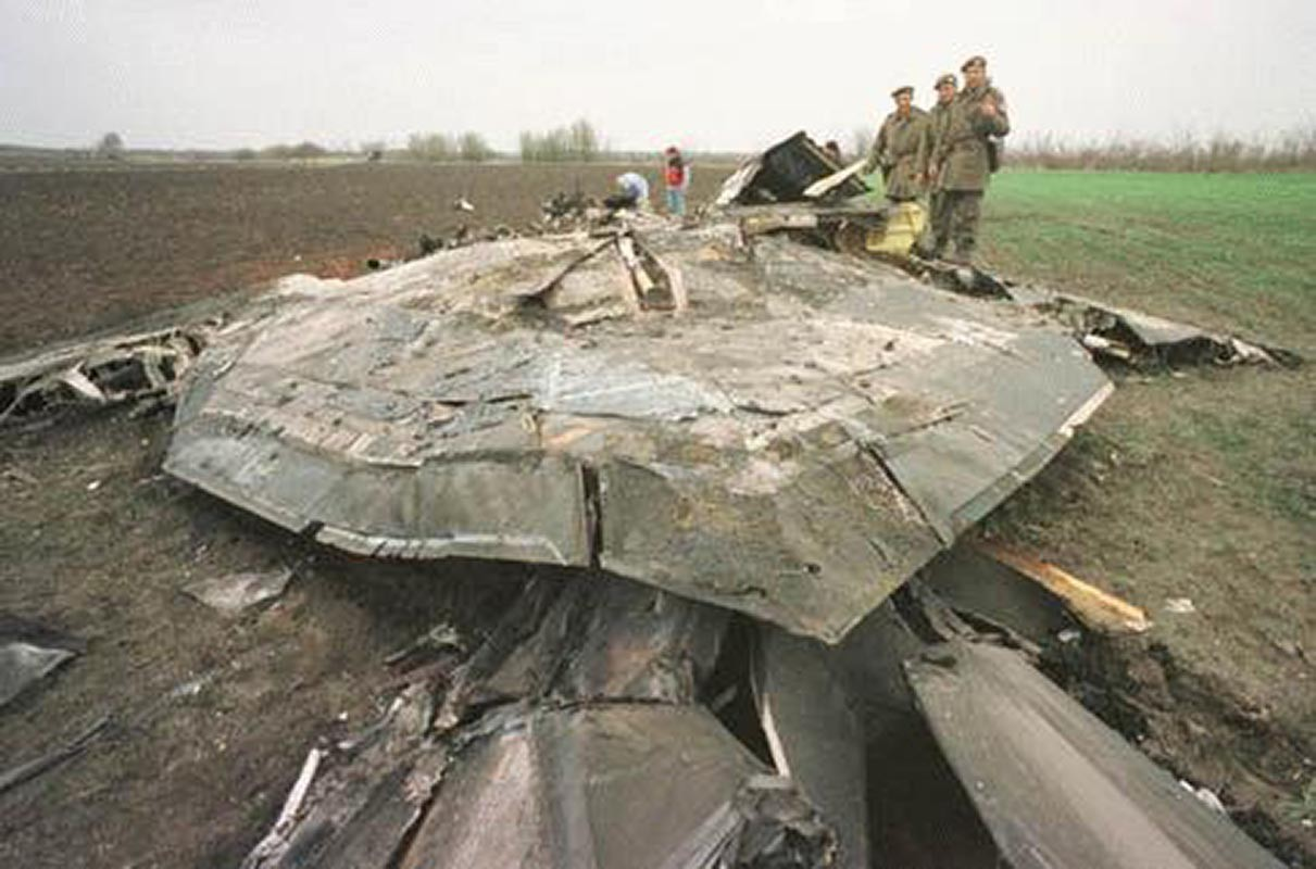 Провал F-117 в Британии. США пытались торговать стелсами задолго до F-35