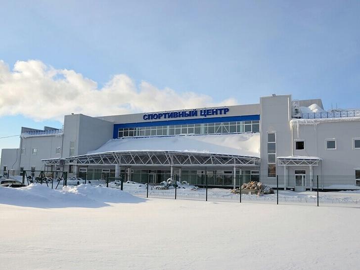 В Югре открыли первый спорткомплекс, построенный благодаря нацпроекту