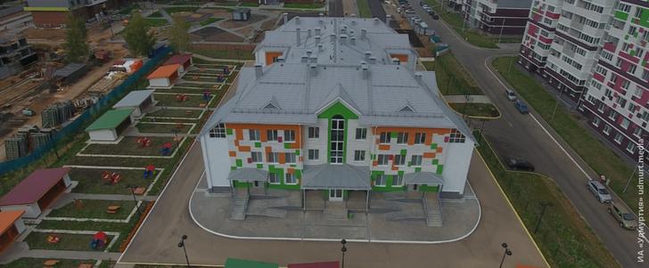 Второй корпус детского сада на ул. Архитектора П. П. Берша открыли в Ижевске