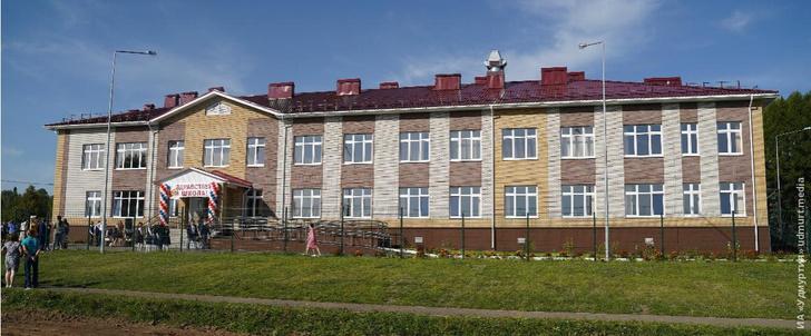 Глава Удмуртии открыл новую школу в Завьяловском районе