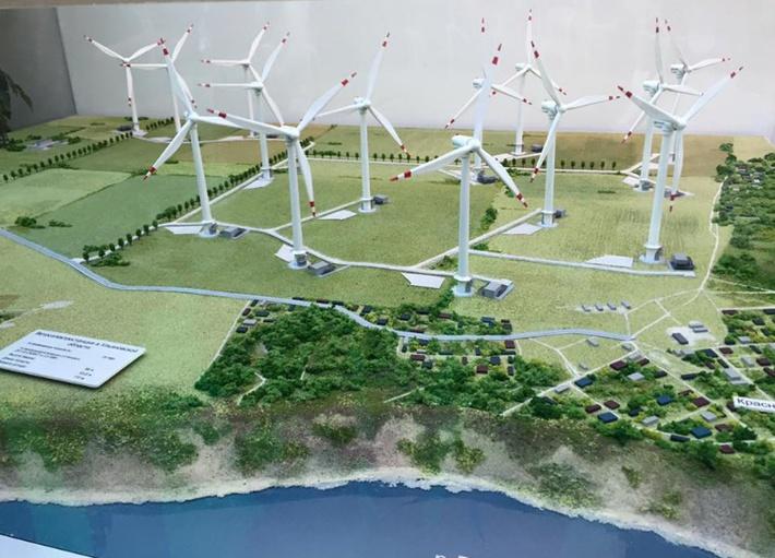 В Ульяновской области приступили к строительству ветропарка мощностью 35 МВт