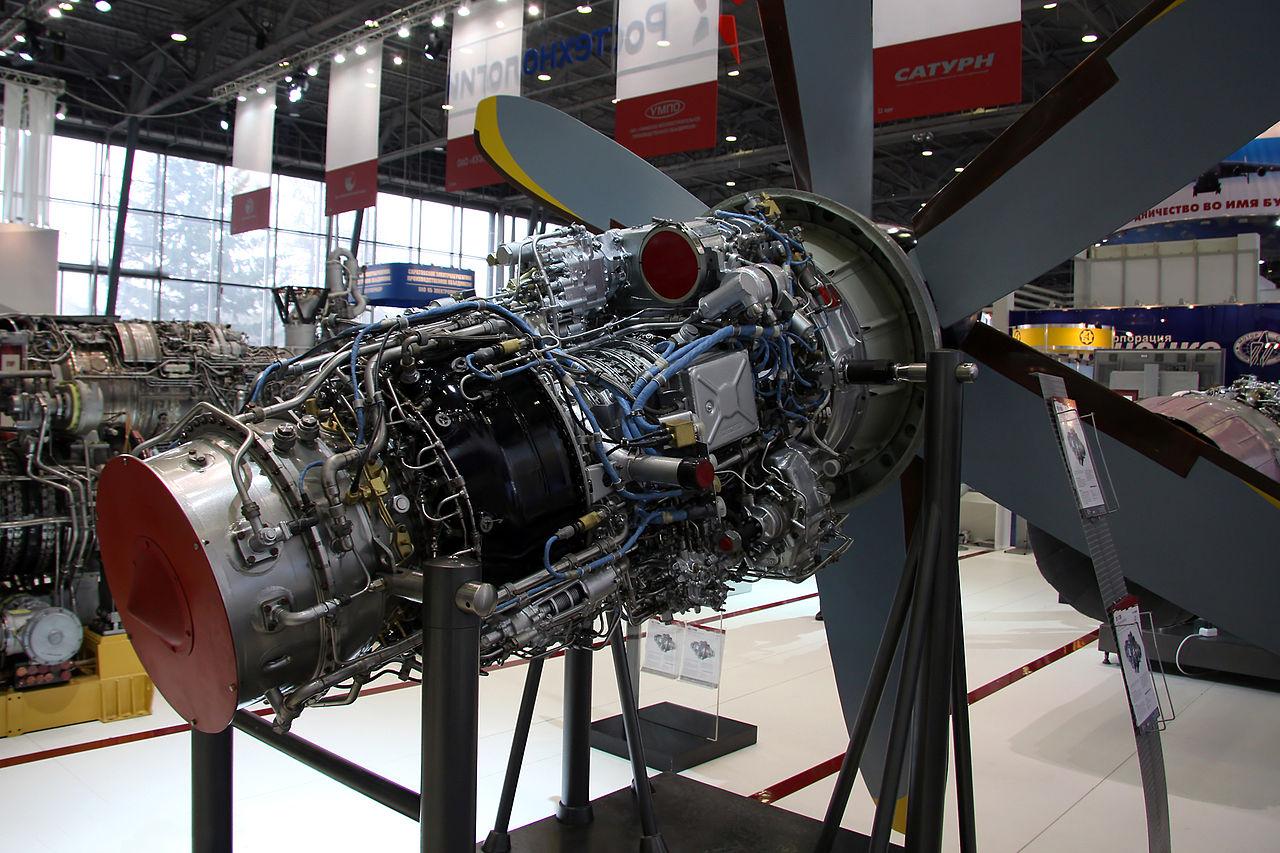 ТВ7-117СМ для Ил-114-300 и Ил-114-300Т в Международном салоне двигатели-2010/04/17@Vitalykuzmin.net