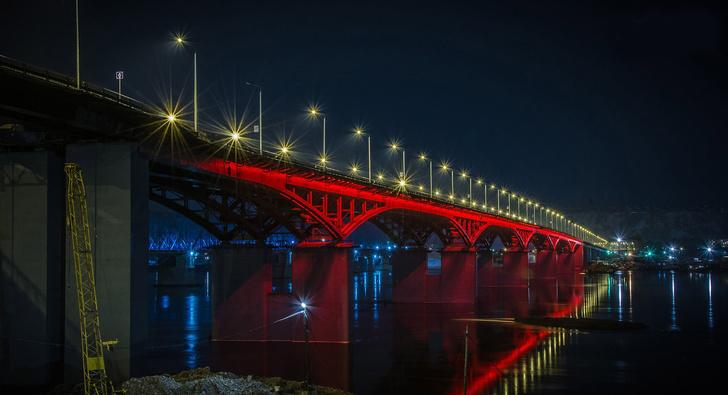 Четвёртый автомобильный мост через Енисей в Красноярске