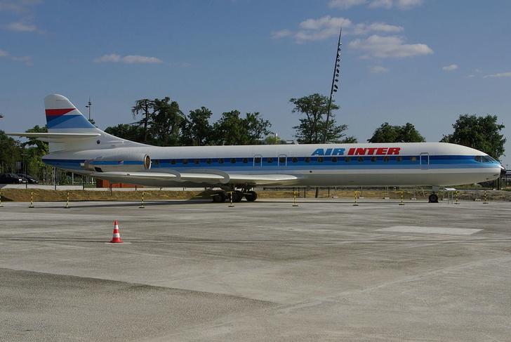 Французский лайнер SE 210 Caravelle