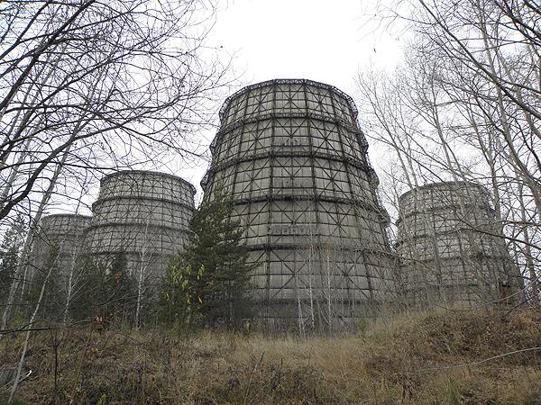 Градирни Сибирской АЭС