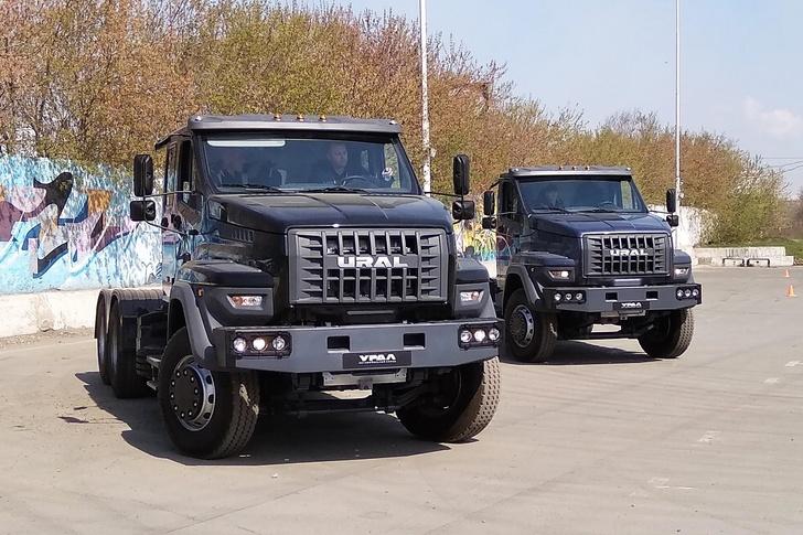 Автозавод «Урал» начал производство и продажи дорожных автомобилей семейства «Урал NEXT 6×4»