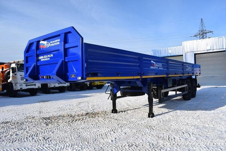 Полуприцеп-контейнеровоз марки УЗСТ 9175-016Б2