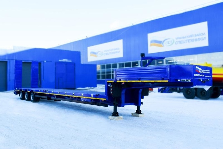 Полуприцеп-контейнеровоз марки УЗСТ 9174-011Н3