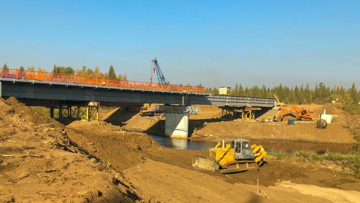 Реконструкция и капитальный ремонт искусственных сооружений на трассе А-331 «Вилюй» ведется по графику
